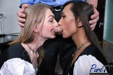 French Maids Take Care Of Their Master (Samantha Smiles, Tera Firma)  [SD] Pure-ts.com