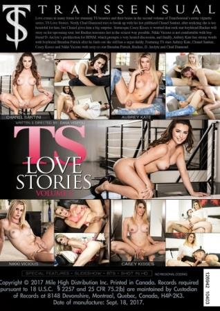 TS Love Stories #2 (Aubrey Kate, Chanel Santini, Casey Kisses)  [SD] TransSensual