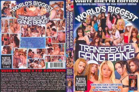 Worlds Biggest Transsexual Gang Bang 1 (Giselle, Pamela, Ihara Anahi, Paola, Nikki Hot)  [SD] White Ghetto