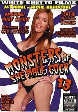 Monsters Of She Male Cock 13 (Bianca, Michelle, Nicole, Diana)  [SD] White Ghetto Films