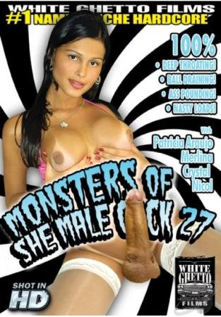 Monsters Of She Male Cock #27 (Crystal, Nicol, Patricia Araujo, Merlina)  [SD] White Ghetto Films