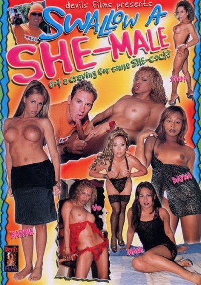 Swallow A She-Male 1  (Group)  [SD] Devil's Films
