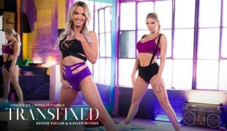 Workout Girls  ( Kenzie Taylor, Kayleigh Coxx)  [HD] Transfixed.com
