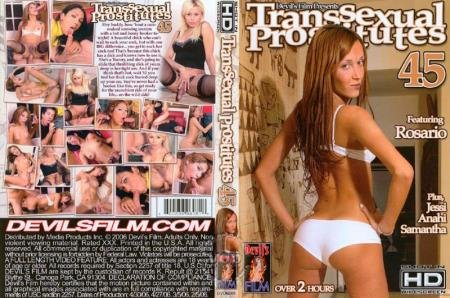 Transsexual Prostitutes 45 (Paul Carrigan, Tom Moore, Anahi )  [SD] Devil's Films