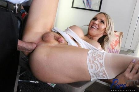 Getting Out Of Trouble With Her Professor  (Kayleigh Coxx)  [SD] Pure-ts.com