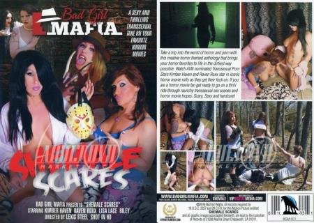 Shemale Scares (Kimber Haven, Lisa Lace, Raven Roxx, Riley)  [SD] Bad Girl Mafia