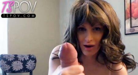busty Canadian Tasha Jones jerks off her man (Tasha Jones)  [FullHD] TsPov.com
