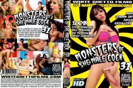 Monsters Of She Male  (Cock 31)  [SD] White Ghetto