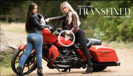 The Long Ride (Aubrey Kate, Gia Paige)  [SD] Transfixed.com