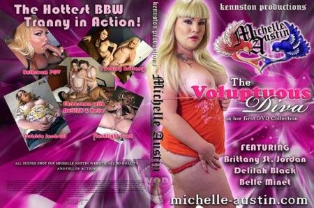 Michelle Austin: The Voluptuous Diva (Delilah Black, Brittany St. Jordan, Belle Minet, Michelle Austin)  [SD] Kennston Productions