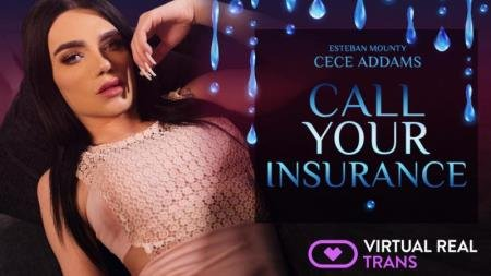 Call Your Insurance (Cece Addams)  [2K UHD] VirtualRealTrans.com