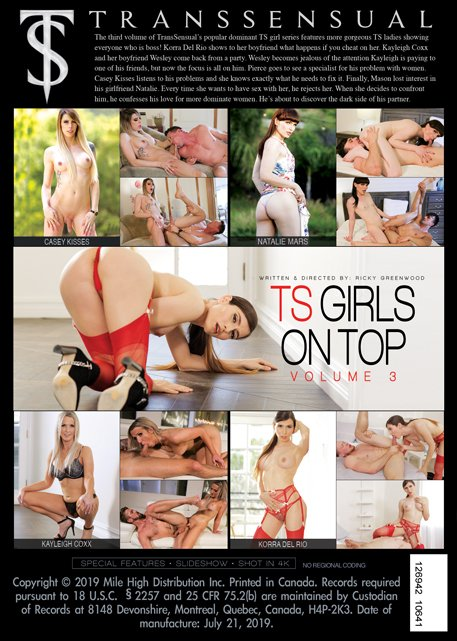 TS Girls On Top #3 (Gonzo)  [SD] TransSensual