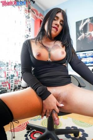 Horny Sharita Jacks Off! (Sharita)  [FullHD] TGirls.xxx