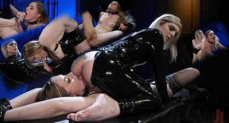 Greedy Latex Slut: Ella Hollywood Fucks Dresden's Pussy and Ass (Ella Hollywood, Dresden)  [SD] Kink.com