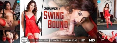 Swing Bound (Crystal Malone)  [2K UHD] GroobyVR.com