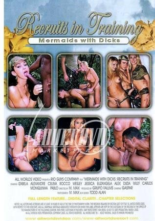 Recruits In Training: Mermaids with Dicks (Alex, Alexandre, Carlos, Celina, Duda, Elizangela, Izabela)  [SD] All Worlds Video / Rio Guys Transexual