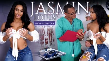 Dr.Monstercock Meets Jasmin (Jasmin Lotus)  [SD] Trans500.com