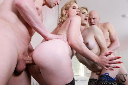 The Blonde Trans Goddess Returns (Nikki Vicious)  [FullHD] Pure-ts.com