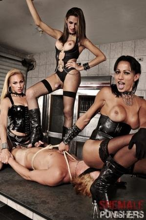 Fetish (Mylena, Nicolly and Yasmin)  [HD] ShemalePunishers.com