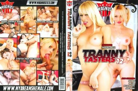 Tranny Tasters 12 (Barbie, Melina, Ashley, Hilda Brasil)  [SD] Magnus