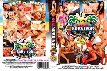 T-Girl Survivor East Vs. West  (Renata, Carla Novaes, Kamila Smith, Som)  [SD] Juicy Entertainment
