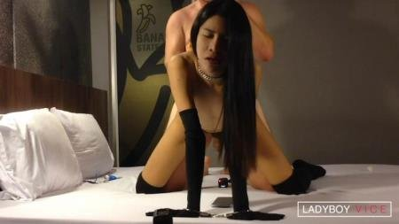 Juicy Hole Slammed With Dick (Kwan)  [HD] LadyboyVice.Com