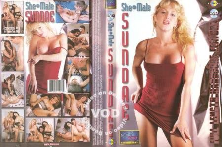She-Male Sundae (Rick Rogue, Johnny Gitaur, Gina, Lady Lauren, Olivia Love, Aja DeVoure)  [SD] Boy Chick Productions