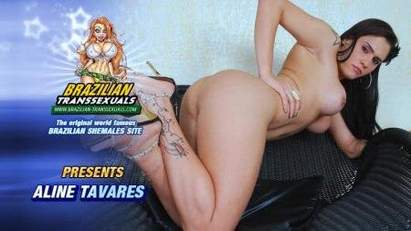 Aline Tavares Toys Her Sexy Ass! (Aline Tavares)  [HD] Grooby Productions