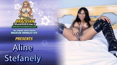 Gorgeous Aline Stefanely Jacks Off! (Aline Stefanely)  [HD] Grooby Productions