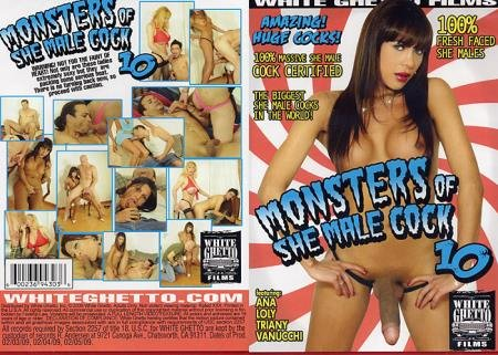 Monsters Of She-Male Cock 10 (Ana, Loly, Triany, Vanucchi)  [HD] White Ghetto Films